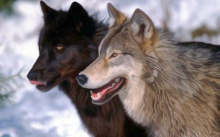 Golden Proverbs The Story Of Two Wolves